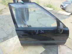 Дверь правая передняя Тойота Кариб АЕ 95 цена 6000 руб