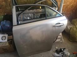 Дверь Toyota Allion 260 кузов голая задняя левая Серебро