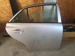 Дверь Toyota Allion 260 кузов голая задняя правая Серебро