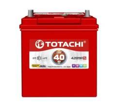 Totachi. 40А.ч., Прямая (правое), производство Япония. Под заказ