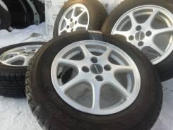 Оригинальные литые диски Honda на шинах Yokohama 185/65R14