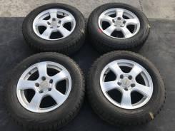 195/65 R15 Bridgestone VRX литые диски 5х114.3 (K27-1514)