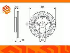 Диск тормозной Bosch 0986479341 передний