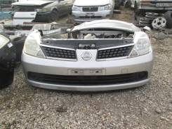 Бампер передний на Nissan Tiida C11