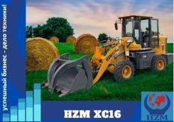 HZM. Фронтальный погрузчик XC16, 1 500кг., Дизельный, 0,60куб. м.