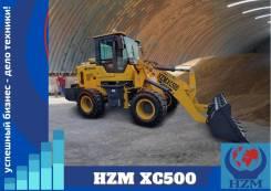 HZM. Фронтальный погрузчик XC500, 2 500кг., Дизельный, 1,30куб. м.