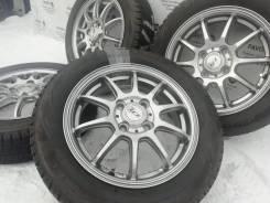 Фирменные литые диски LSZ на шинах Bridgestone 155/65R14