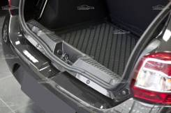 Накладка на порог багажника. Renault Sandero Stepway, 5S H4M, K4M, K7M