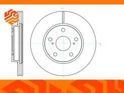 Диск тормозной вентилируемый G-Brake GR20650 передний