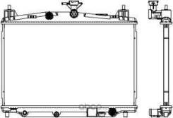 Радиатор охл. ДВС Mazda 2 1.5L АКПП 07-10 Sakura 33011047 33011047