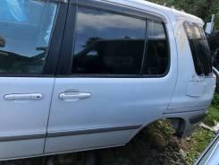 Дверь задняя левая белая(049) Toyota Raum EXZ15 78000km
