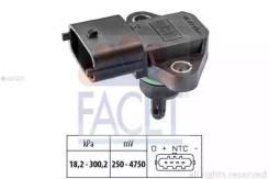 Датчик давления воздуха Hyundai: Accent III (MC) 1.5 CRDi GLS 05-, Accent седан (MC) 1.5 CRDi GLS 05-, Grandeur (TG) 2.2 CRDi 05-, H-1 / Starex 2.5 CR...