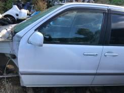 Дверь передняя левая белая(049) Toyota Raum EXZ15 78000km