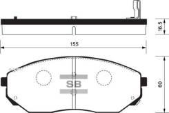 Деталь Sangsin Brake SP1153
