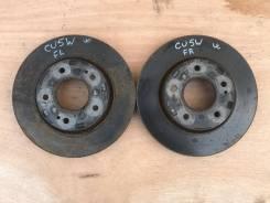Диски тормозные передние правый и левый пара CU5W