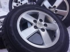Оригинальные литые диски Toyota на шинах GoodYear 205/65R15