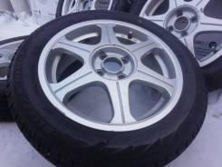 Комплект литых дисков 4*100 на шинах Bridestone 175/60R16