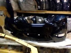 Бампер задний Hyundai Solaris 11-14 хечбек черный mzh