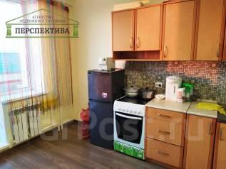 1-комнатная, улица Донская 15. Берзарина, агентство, 34,0кв.м. Кухня