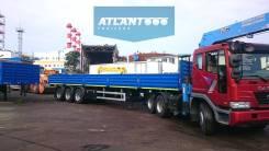 Atlant. SWT1235 полуприцеп бортовой с контейнерными фитингами, 35 000кг. Под заказ