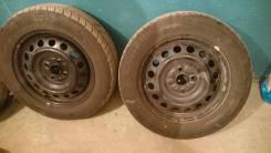 Летняя резина с стальными дисками Dunlop (175х65х15)
