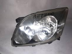 Фара передняя левая Toyota Avensis AZT-25O