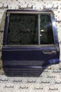 Дверь задняя левая синяя2 (в сборе) Jeep Grand Cherokee ZG-ZJ