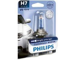 Галогенная лампа Philips H7 Crystal Vision 55W