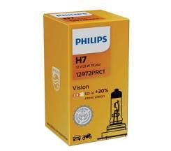 Лампа Philips Vision + 30% H7 55W