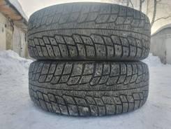 Michelin X-Ice. зимние, шипованные, б/у, износ 30%
