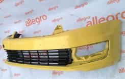 Бампер передний желтый VW Polo