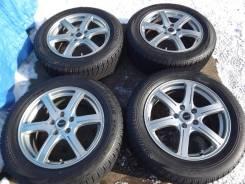 215/60 R17 Bridgestone VRX 2014г на литье 5*114,3 Balminum