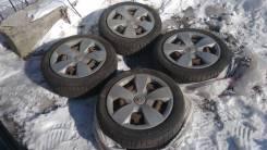 Комплект колес зима на штамповках + колпаки!