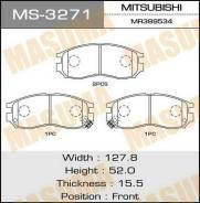 Колодки дисковые Masuma AN-312K (1/12) MS-3271 MS3271
