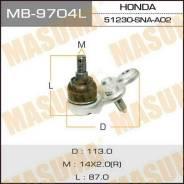 Шаровая опора Masuma front low HO Civic/ FD1, FD3, передняя MB9704L