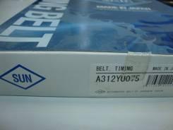 Ремень грм SUN A312YU075 MMC Pajero/Montero 4D56 B/S (92-) Delica