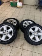 Michelin X-Ice North 4. зимние, шипованные, 2019 год, б/у, износ 5%