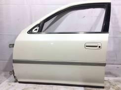 Дверь передняя левая цвет 051 Toyota Cresta JZX100 GX100 #80