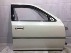 Дверь передняя правая цвет 051 Toyota Cresta JZX100 GX100 #80