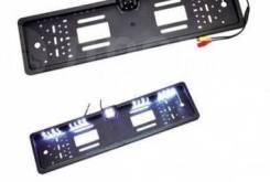 Рамка номера с камерой ночное виденние с ламп. 16 шт. 4LED 54 см*14 см 8038