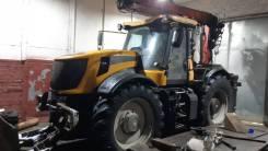 JCB. Трактор колесный Fastrac 8250, 2007 г. в. с краном манипулятором