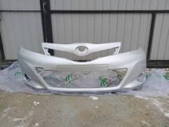 Бампер передний Toyota Vitz ksp130 цвет 1F7