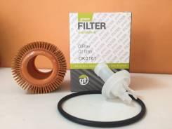 Фильтр масляный (картридж) Green Filter OK0161 Toyota