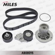 Комплект ремня ГРМ GM/Daewoo 1.4/1.6 16V (с помпой) AB08015 miles AB08015 в наличии AB08015