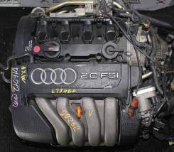 Двигатель AUDI AXW FF AT пробег 83710 км - коса+комп Комп