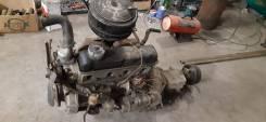 Двигатель в сборе с МКПП ГАЗ 21 Волга ГАЗ21Б ЗМЗ21А