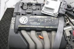 Двигатель без КПП Volkswagen AXW FF AT GJZ 73599 км