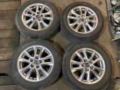 Литье R16 Mazda Axela оригинал с летней резиной 205/60/R16