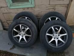 Bridgestone Dueler H/T 235/60 R16 и Sakura Wheels