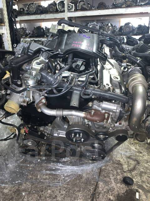 Двигатель YD25DDTI для Nissan